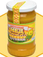 """Мед натуральний """"ЛУГОВИЙ"""" 0,4 л"""