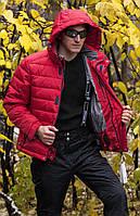 Непродуваемая зимняя термокуртка для мужчин BRUGI