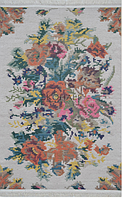 Ковер Петчворк Цветы (с кисточками), фото 1