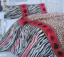 Котоновое постельное белье (семейное) Savanna Турция