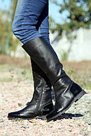 Сапоги женские кожаные / Women's high boots leather