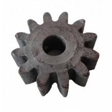 Шестерня приводу конічна чавунна до бетонозмішувача AgriMotor 12 зубів ( нового зразка )