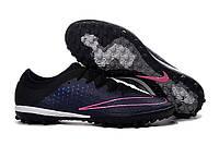 Сороконожки Nike MercurialX Finale TF Midnight Navy/Black/Pink Blast
