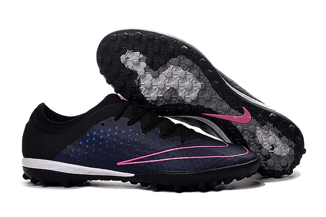 Сороконожки Nike MercurialX Finale TF Midnight Navy/Black/Pink Blast
