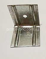 Фасадный кронштейн оцинкованный L-образный 50х50х50х1,5