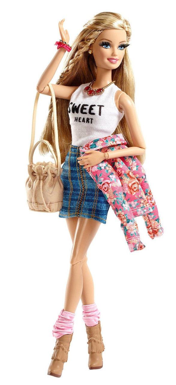 Barbie Style Floral Jacket Doll ( Кукла Барби стиль Цветочный пиджак )