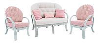 Комплект мебели Монако, мебель для бассейна, мебель для сауны, мебель для ресторана