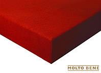 Простынь frotte 180 г. с резинкой Molto Bene 140x200+25см цвет красный