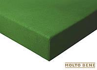 Простынь frotte 180 г. с резинкой Molto Bene 140x200+25см цвет зеленый