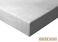 Простынь frotte 180 г. с резинкой Molto Bene 140x200+25см цвет серый