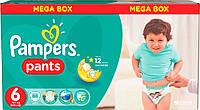 Подгузники-трусики Pampers Pants 6 (16+ кг) MEGA BOX, 88 шт.
