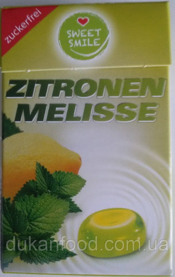 "Леденцы без сахара SWEET SMILE ""Лимон-мелисса"""