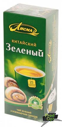 Чай Лісма зелений Китайський 25 пакетів, фото 2