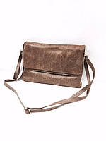 Женская сумка-клатч Vera Pelle (1527 beige) leather