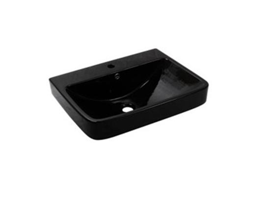 Умывальник NEWARC Countertop 60 (5014B) черный, фото 2