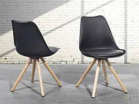 Стул для столовой черного цвета - кресло - ДАКОТА