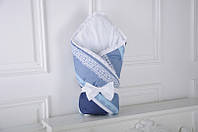 Конверт-одеяло «Индиго» с кружевом  Лето