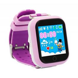 Умные часы Smart Baby Watch Q100s(GW200s) Pink GPS,Wifi,Вибро