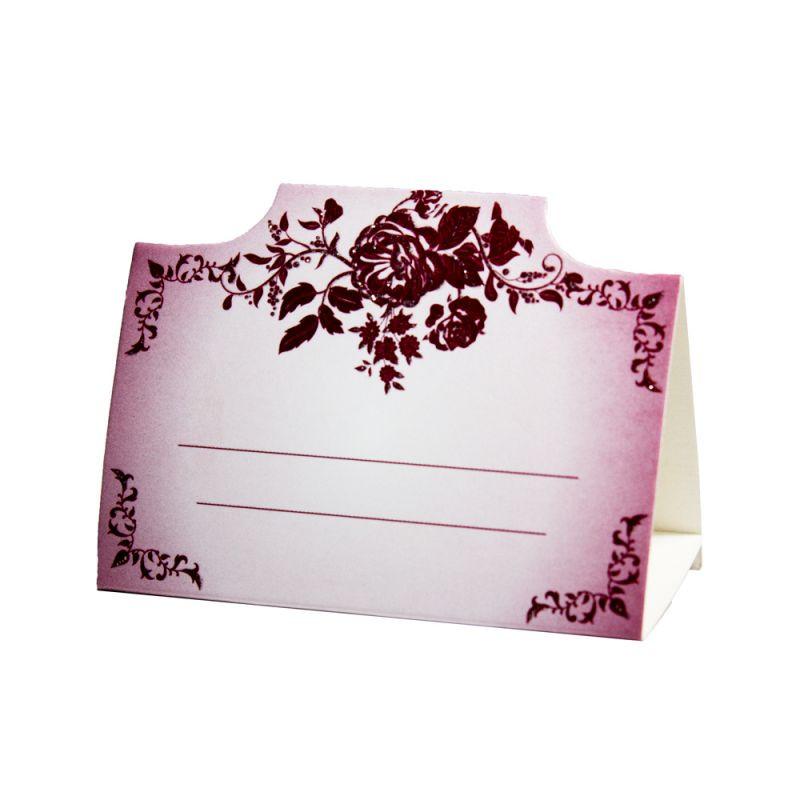 Рассадочная карточка для  банкета. RM-32