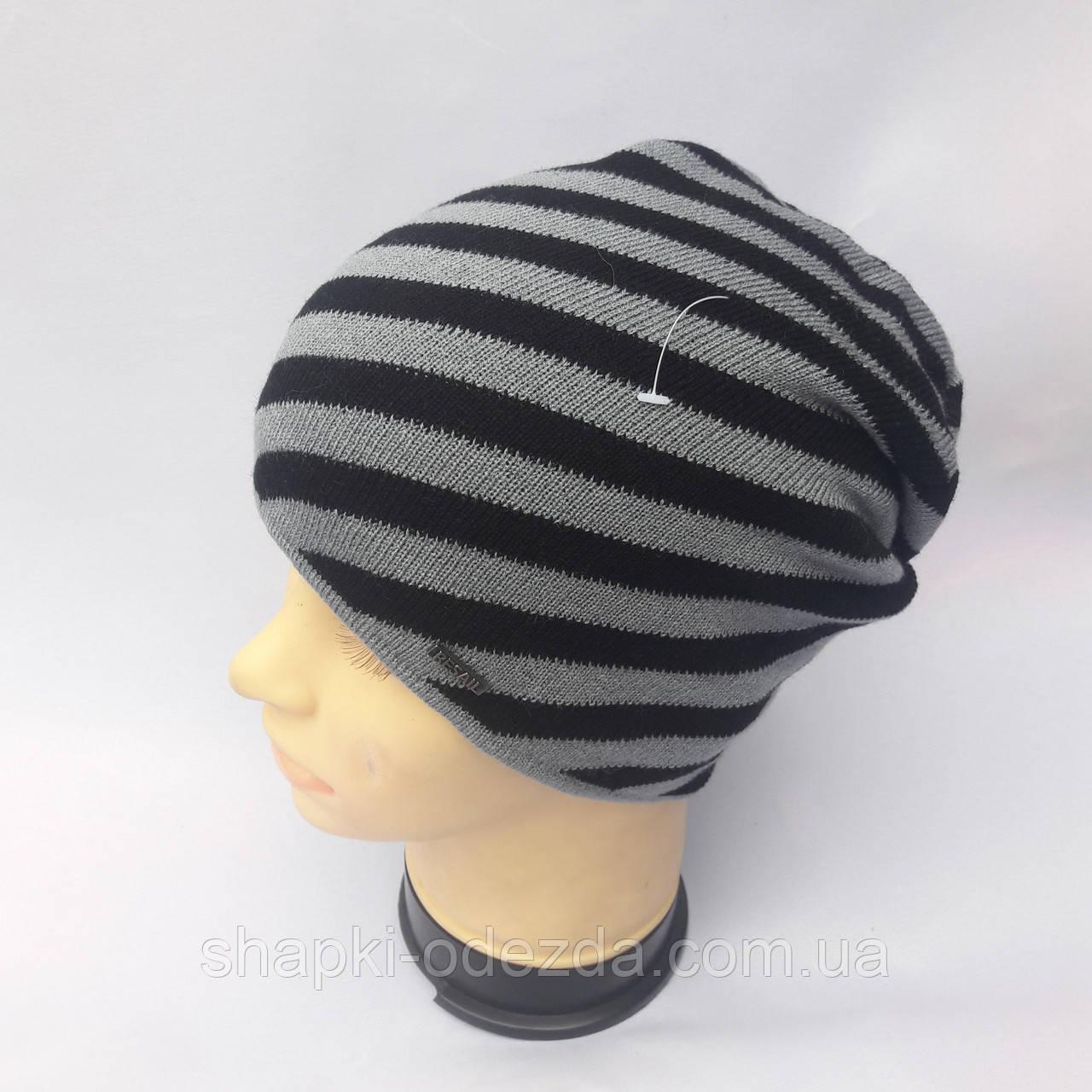 молодежная вязаная шапка на флисе для мужчин и девушек продажа