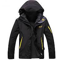 Качественные мужские куртки  2в1 JACK WOLFSKIN. Практичная и стильная куртка. Удобный дизайн. Код: КДН1102