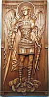 Икона Архангела Михаила резная, фото 1