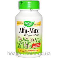 Люцерна Alfalfa (концентрат)  525 мг 100 капс противовоспалительное для почек мочегонное Nature's Way USA