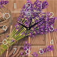 """Настенные часы в стиле прованс """"Лаванда"""" Fl 015, ЮТА"""