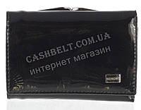 Маленький стильный лаковый женский кожаный кошелек высокого качества BODENSCHATZ art. 2239-A75 черный, фото 1