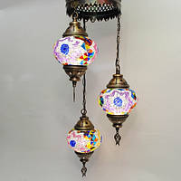 Люстра из мозаики 3 плафона Sinan-40