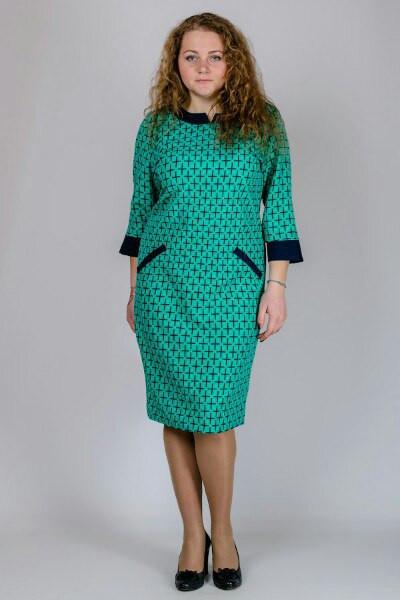 2e9fe343b33 Модное платье большого размера
