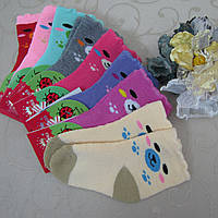 """Носки махровые для детей, р/р S (1-2 года ). """"Корона"""" . Детские  носки, носочки махровые  для детей"""