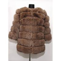 Полушубок песцовый трансформер Fur Perfect 1R-01
