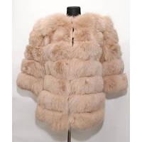 Полушубок песцовый трансформер Fur Perfect 1R-04