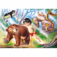 Пазлы Книга джунглей, 60 элементов, Castorland В-06229