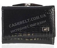 Маленький стильный лаковый женский кожаный кошелек высокого качества LE PELICAN art. LE2190-67 черный