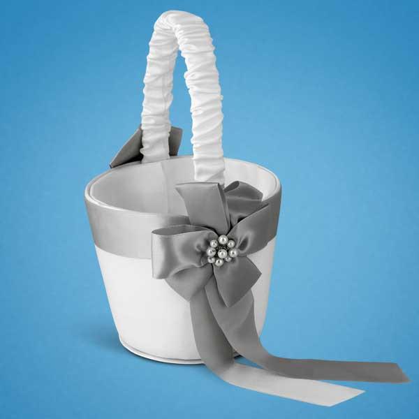Свадебная корзинка для лепестков роз 0711-4