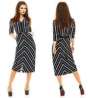 Платье делового стиля, размер S M L код 595М