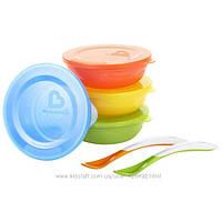 Набор детской посуды 10 предметов Munchkin Love-a-Bowls