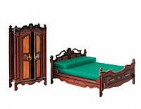 Сборная модель из картона Умная бумага Спальня (333)