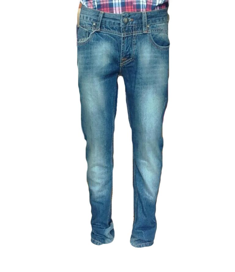 Узкие джинсы мужские с низкой посадкой Franco Benussi
