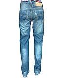 Узкие джинсы мужские с низкой посадкой Franco Benussi, фото 3