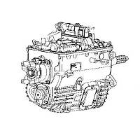 КПП Eaton FS 6406 A Renault Midlum 270 DCI