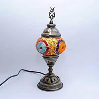 Настільна лампа з мозаїки 30 см Sinan-01