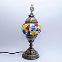 Настольная лампа из мозаики 30 см Sinan-03