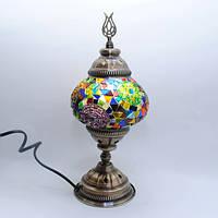 Декоративная лампа из мозаики 30 см Sinan-06