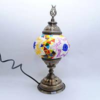 Турецкая Настольная лампа 30 см Sinan-08