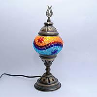 Настольная лампа из мозаики 30 см Sinan-04