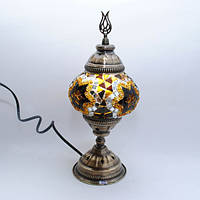Настольная лампа восточная 30 см Sinan-05