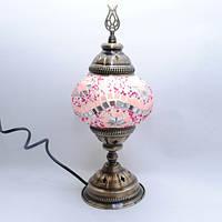 Настольная лампа из мозаики 30 см Sinan-09